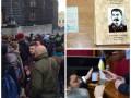 День в фото: Бюджет 2016, сталинские книги на Донбассе и дискотека под Кабмином