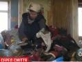 Крысы, тараканы и опарыши: в киевской многоэтажке женщина устроила свалку