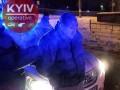 В Киеве дважды за ночь задержали пьяного евробляхера