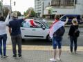 В Минске водители блокируют движение