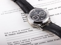 Часы Путина продали на аукционе за миллион евро
