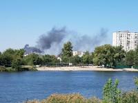 В Киеве горят Русановские сады