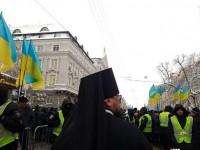 В центр Киева согнали четыре тысячи силовиков