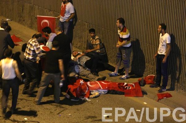 В Турции увеличилось количество жертв в результате военного переворота