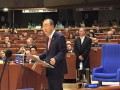 Украина в ПАСЕ раскритиковала Пан Ги Муна за его