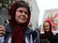 Под  Администрацией Президента верующие митинговали против введения биометрических паспортов