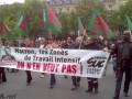 В Париже прошел марш противников Макрона