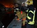 Крупный пожар в Одессе: три часа горел склад химии