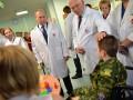 Путин посетил раненых на Донбассе детей