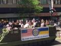 В Чикаго марш ветеранов прошел под украинскими флагами