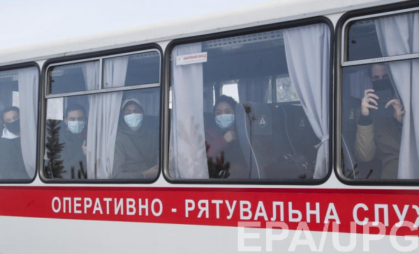 Граждан, эвакуированных из Уханя, разместили в санатории на Полтавщине