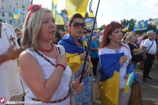 Как праздновали День Независимости в Киеве и регионах
