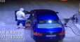 Из-за рассеянного водителя загорелась АЗС под Киевом