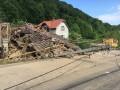 В селе под Мукачево оползень снес несколько домов
