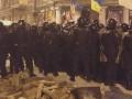 Митингующие покинули территорию возле Дома офицеров и отправились на Майдан