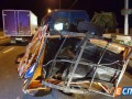 В Киеве грузовик насмерть сбил работника дорожной службы