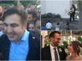 Итоги выходных: возвращение Саакашвили, свадьбы Лещенко и сына Луценко