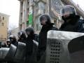 Евромайдан оцеплен силовиками (ФОТО)