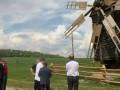 В музее Пирогово под Киевом открыли 100-летний ветряк