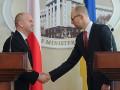 Яценюк попросил Польшу помочь Украине в борьбе с коррупцией
