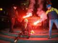 В центре Киева сожгли чучело Ленина