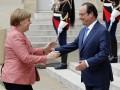 Меркель и Олланд приветствовали договоренность о режиме тишины