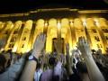 Протестующие в Тбилиси не намерены расходиться