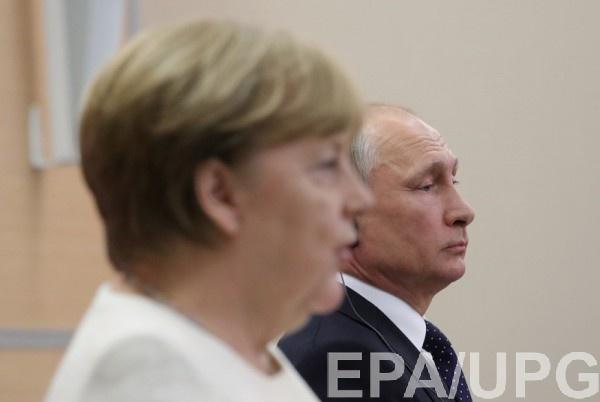 Владимир Путин и Ангела Меркель провели переговоры в Сочи