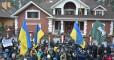 Под домом Луценко активисты требуют отпустить политзаключенных