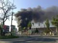 Крупный пожар в Киеве: возле метро Выдубичи горит склад бумажных изделий