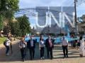 В Киеве пронесли крымскотатарский флаг