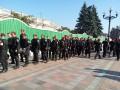 Из-за митингов возле Рады в центр Киева стянули несколько тысяч милиционеров