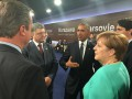Порошенко в Варшаве встретился с Обамой и Меркель