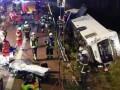 В Германии перевернулся автобус с туристами: более 30 пострадавших