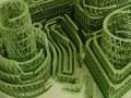 Во Франции художник создал скульптуру из четырех тысяч мятных жвачек