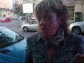 В Одессе избили известную активистку