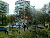 В Киеве горела многоэтажка, 14 человек эвакуировали