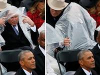 Смешной Буш на инаугурации Трампа стал героем фотожаб