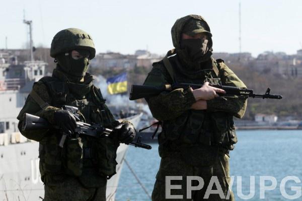 В апреле 2014 года 9000 украинских военных вступили в ряды Черноморского флота