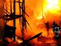 Масштабный пожар в Одессе: сгорели причал и 15 домов