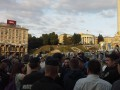 Милиция на Майдане разгоняет