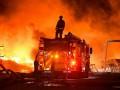 Десятки американцев оказались в кольце лесных пожаров