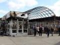 На ремонт входа на станцию метро Позняки после пожара потратили 100 тысяч
