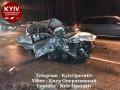 Жуткое ДТП в Киеве: есть жертвы