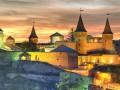 В старой крепости в Каменец-Подольском рухнула часть стены