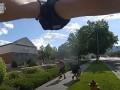 В США на камеру копа попал расстрел при задержании