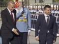 Зеленский и Эрдоган в Анкаре осмотрели Почетный караул