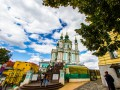 В Киеве завершили реставрацию Андреевской церкви