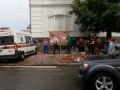 На киевском Подоле на людей рухнул кусок здания