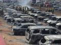 На авиашоу в Индии сгорели почти 300 авто